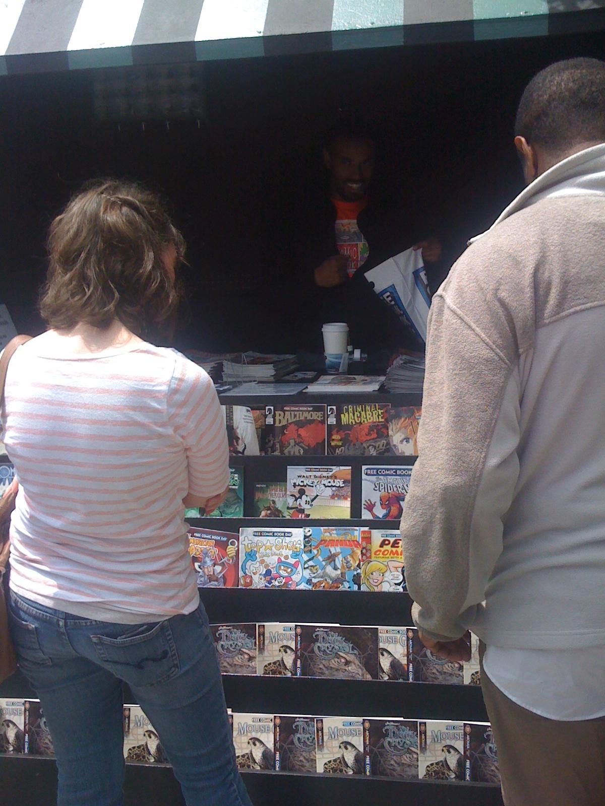 030 Tokyopop Garage Sale, Free Comic Book Day, Thor and Manga in Vienna